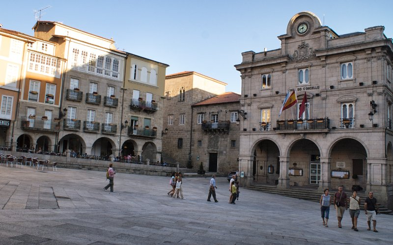 In the centre of Ourense