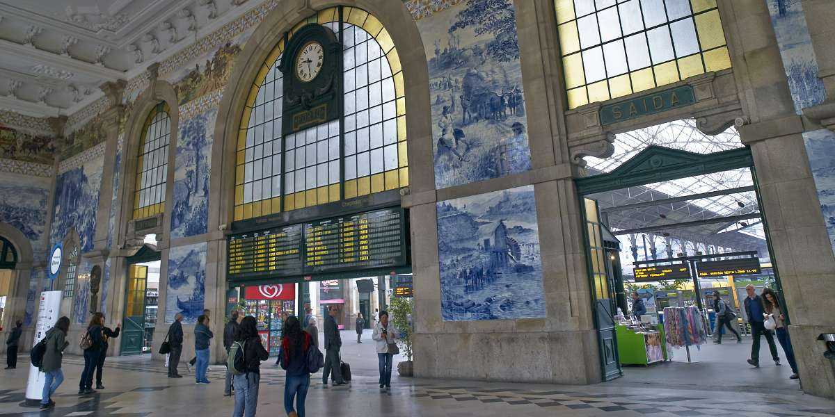 São Bento Station. A gem in the heart of Porto
